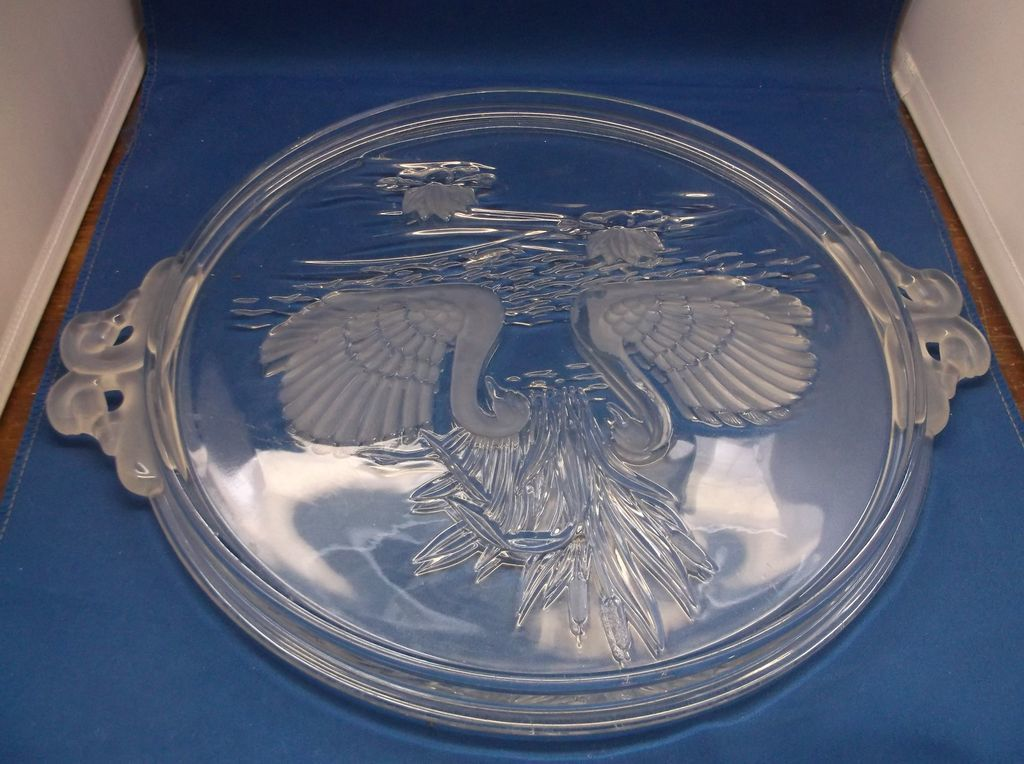 Walther Glass Cake Stand