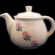 Kitchen Kraft Household Institute Rhythm Rose Tea Pot Homer Laughlin