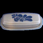 Pfaltzgraff Folk Art Butter Dish With Lid