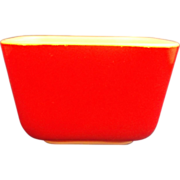 Pyrex Primary Colors Red Small Refrigerator Dish No Lid