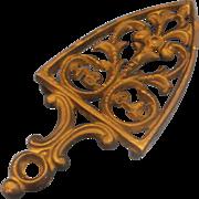Wilton Cast Iron Trivet Iron Shape
