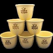 Pfaltzgraff Village Custard Cups Set of 8
