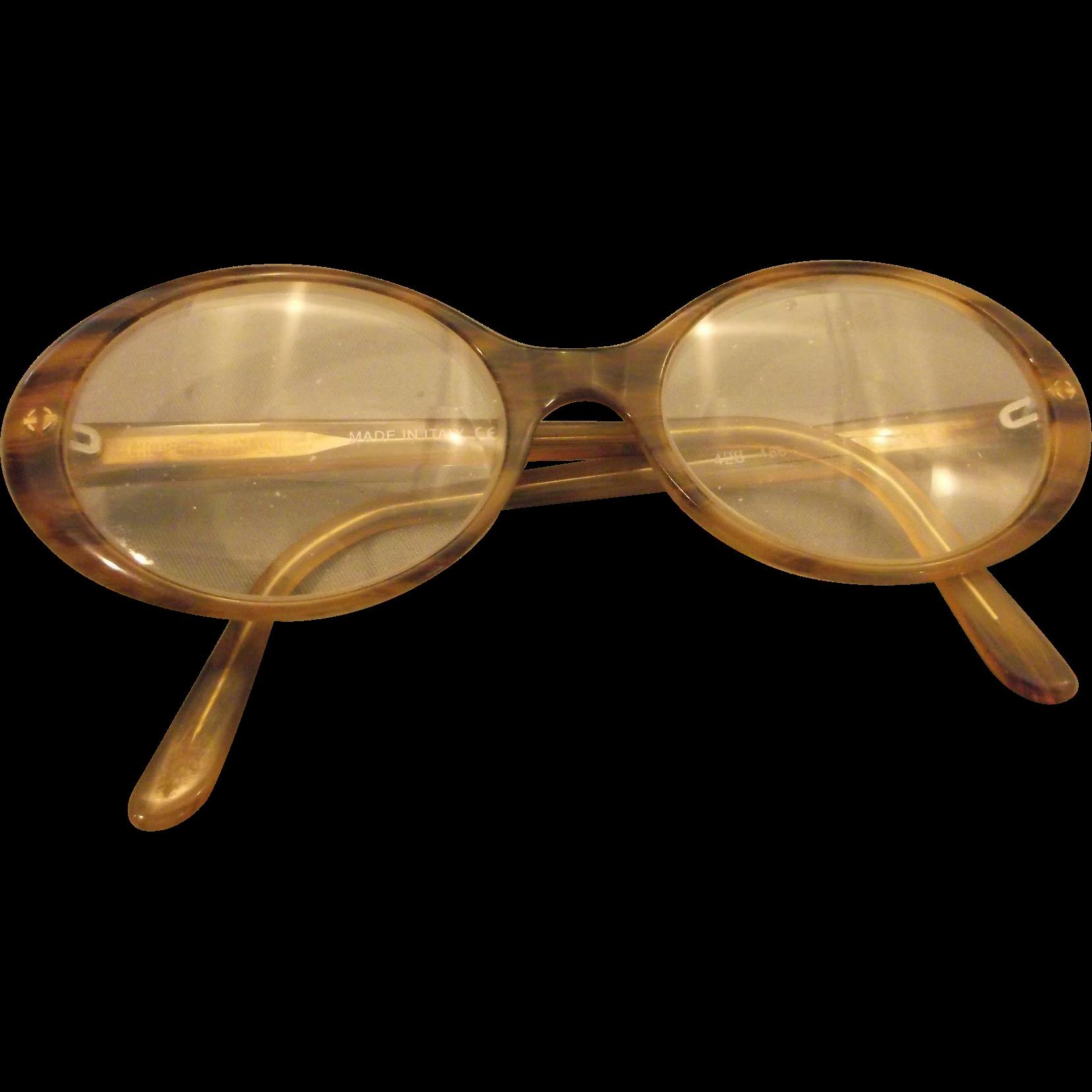 Vintage Armani Glasses Frames : Giorgio Armani Glasses Faux Tortoiseshell Frames Full Rim ...