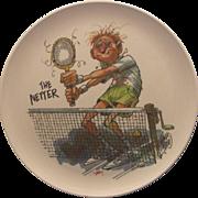 SOLD Jack Davis The Netter Boontonware Melmac Plate