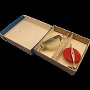 Physics Pulleys Plastic Steel Ideal Brand Original Box