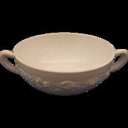 Vitrock White Cream Soup Bowl Hocking Depression Glass