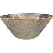 SOLD Soreno Aurora Iridscent Large Serving Bowl Anchor Hocking 4 QT