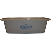 SOLD Corning Cornflower 2 Quart Loaf Pan P-315-B