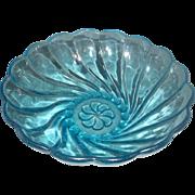 SOLD Hazel Atlas Capri Swirl Large Berry Bowl Large