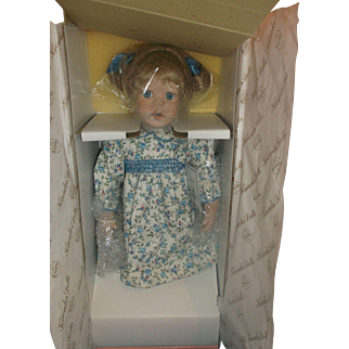 Pollys Tea Party Lizzie Doll MIB Edwin Knowles Susan Krey 1991