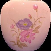 SALE Summer Mist Koya Bone China Translucent Shell Pink Vase Japan
