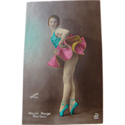 Circa 1920: Moulin Rouge Dancer Miss Dolly