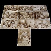 "1909 : Postcard Story Set "" The Life of Saint Madleine "" by Domenico Mastroianni"