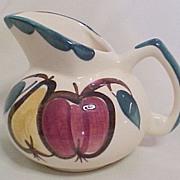 Purinton Milk/Cream Pitcher, Fruit Motif, circa 1945