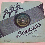 SOLD RCA Victor 78 rpm Vinyl (1944),  Tommy Dorsey's OPUS No. 1 (a-side)  and I DREAM OF YOU (