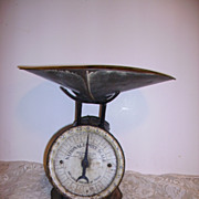 SOLD Antique Dated 1912-13 Candy Scales General Store Scales