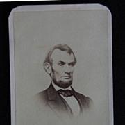 Carte De Viste Photograph - ABRAHAM LINCOLN / Revenue Stamp / Phila