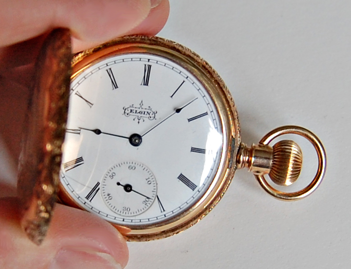 dating my elgin pocket watch The working man's watchinternational watch company many elgin watches that were made over 100 years ago are still providing reliable and accurate daily service to their proud owners.