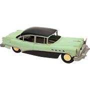 1950s Buick Roadmaster AMT Friction Car in Mint Green & Black