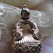 Antique Jeweled Watch Fob