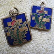 SALE French Cross of Lorraine Religious Medals