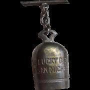 Lucky Bell Of San Michele WW11 Good Luck Charm