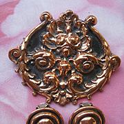 Renoir Copper Pin & Clip On Earrings