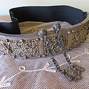 Silver Filigree Wedding Belt, Early Twentieth Century Silver Belt