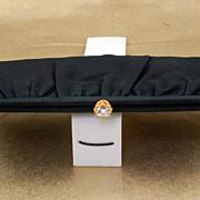 SALE Elegant Vintage Garay Black Clutch Purse