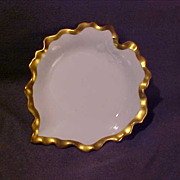 Count Thun's Porcelain Leaf Dish