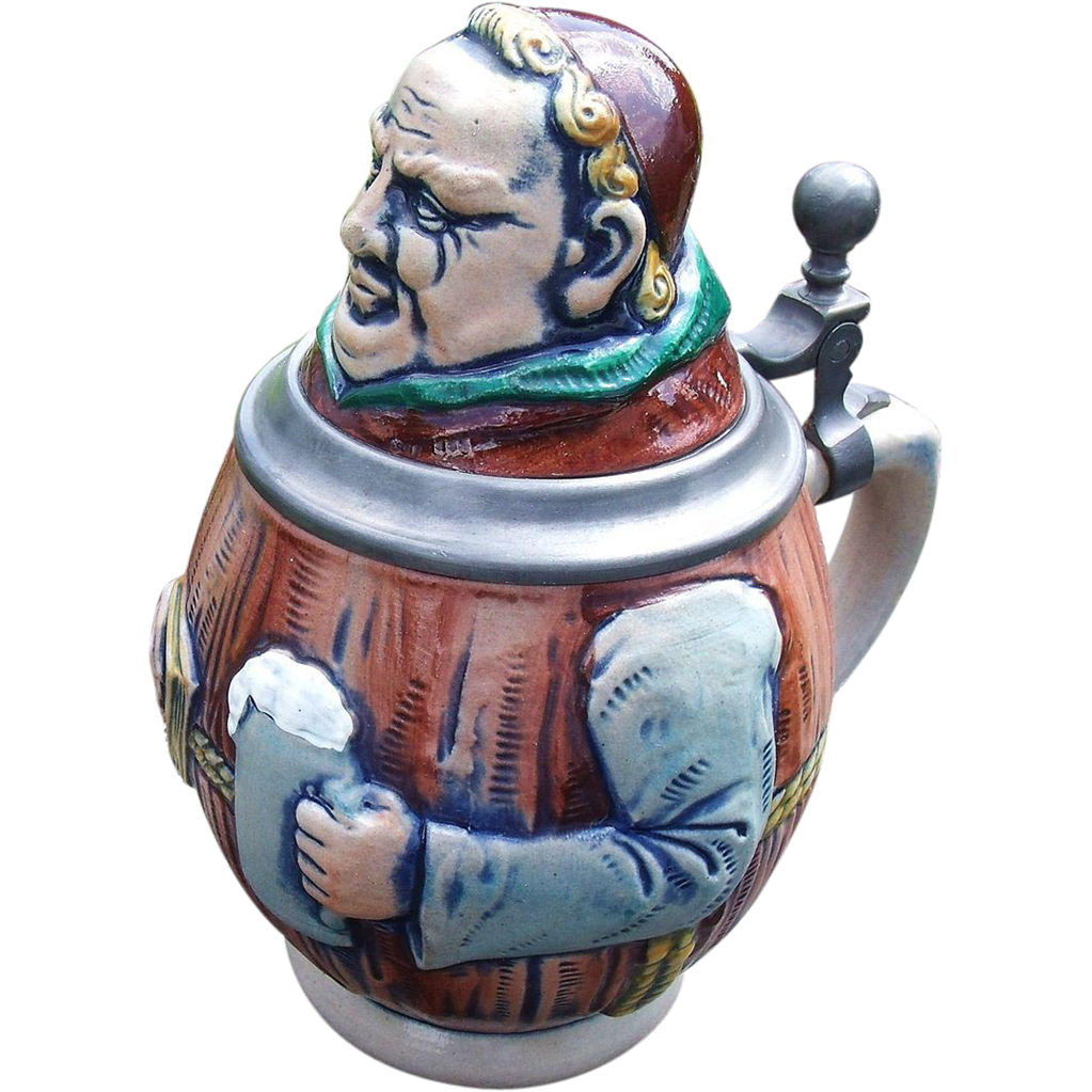 1 Liter Ceramic Beer Stein German Steins On Pinterest