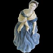 SOLD Royal Doulton Porcelain Figurine Adrienne