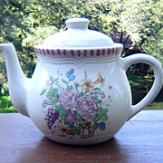 Garden Teapot from Himark China