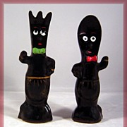 Anthropomorphic Fork & Spoon Salt Pepper Shakers