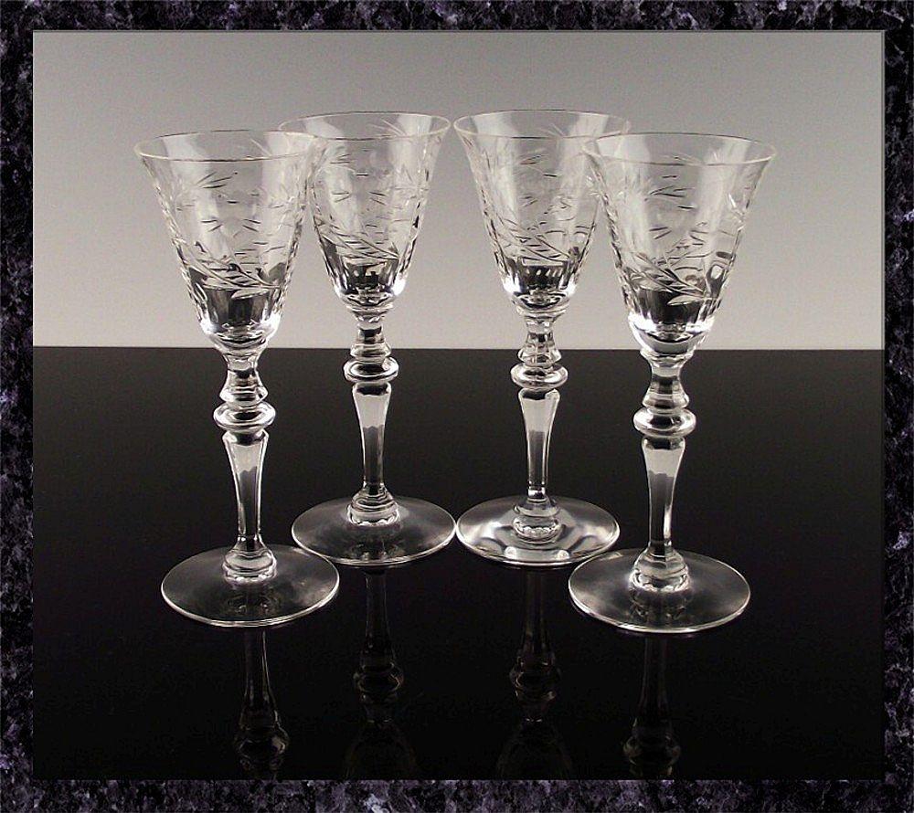 Cut Crystal Cordials by Seneca Crystal