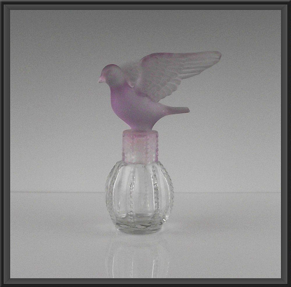 Delagar Royal Dove Perfume Bottle ca 1980's