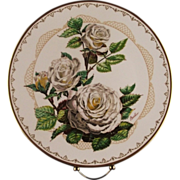 "Boehm Porcelain Collector's Plate ""White Lightnin"" ca 1982"