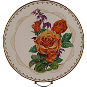 "Boehm Porcelain Collector's Plate ""Brandy"" ca 1983"