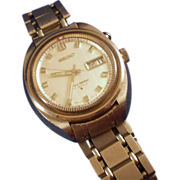 Vintage 1960s 27 Jewel Seiko Bell Matic Watch