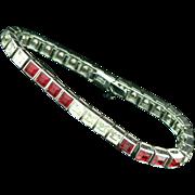 Sterling Crystal Dorsons Bracelet