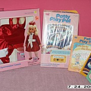 SALE NRFP Patty Play Pal Outfit and one NRFP Books and Tapes +