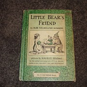 Little Bear's Friend by Else Holmelund Minarik - 1960