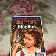 "SALE NRFP Shirley Temple VHS Tape ""The Blue Bird"""