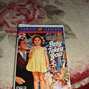 "SALE NRFP Shirley Temple VHS Tape ""Baby Takes a Bow"""