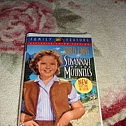 "SALE NRFP Shirley Temple VHS Tape ""Susannah of the Mounties"""