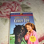 "SALE NRFP Shirley Temple VHS Tape ""Curly Top"""