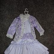 Beautiful Light Purple Satin Doll Dress