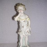 Bisque Figurine of a Little Girl