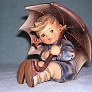 "SOLD Hummel Figurine ""Umbrella Girl"" 152/B/O - Red Tag Sale Item"