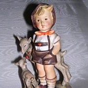 "SOLD Hummel ""Little Goat Herder"" Figurine 200/1 Full Bee - Red Tag Sale Item"
